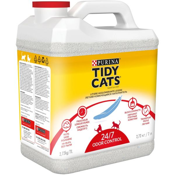 Наполнитель для кошачьего туалета Purina Tidy Cats, 7 л
